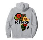 African King Men Flower Clothing Art Pullover Hoodie, T Shirt, Sweatshirt