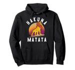 Disney The Lion King Simba Hakuna Matata Pride Rock Portrait Pullover Hoodie, T Shirt, Sweatshirt