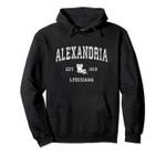 Alexandria Louisiana LA Vintage Athletic Sports Design Pullover Hoodie, T Shirt, Sweatshirt
