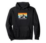 Vintage Cascade, Idaho Mountain Hiking Souvenir Print Pullover Hoodie, T Shirt, Sweatshirt