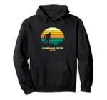 Retro Cumberland Center, Maine Bigfoot Souvenir Pullover Hoodie, T Shirt, Sweatshirt