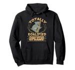 Totally Koalified Graphic Designer Koala Job Pullover Hoodie, T Shirt, Sweatshirt