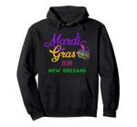 Mardi Gras Parade Hoodie Pullover Hoodie New Orleans Louisiana, T Shirt, Sweatshirt