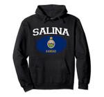 SALINA KS KANSAS Flag Vintage USA Sports Men Women Pullover Hoodie, T Shirt, Sweatshirt