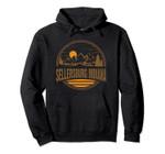 Vintage Sellersburg, Indiana Mountain Hiking Souvenir Print Pullover Hoodie, T Shirt, Sweatshirt