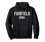 FAIRFIELD IOWA IA USA Patriotic Vintage Sports Pullover Hoodie, T Shirt, Sweatshirt