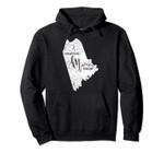 Somebody in Maine Loves Me Weathered Vintage Pullover Hoodie, T Shirt, Sweatshirt