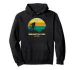 Retro Bayou Washington Park, Illinois Bigfoot Souvenir Pullover Hoodie, T Shirt, Sweatshirt