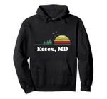 Vintage Essex, Louisiana Home Souvenir Print Pullover Hoodie, T Shirt, Sweatshirt