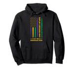 Mardi Gras Kaplan Louisiana Fleur-De-Lis American Flag Pullover Hoodie, T Shirt, Sweatshirt