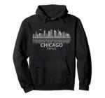 Chicago City Skyline Landmark Souvenir Love Home Gift Pullover Hoodie, T Shirt, Sweatshirt