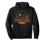 Vintage Wardner, Idaho Mountain Hiking Souvenir Print Pullover Hoodie, T Shirt, Sweatshirt