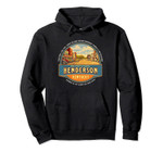 Henderson KY Kentucky Vintage Nostalgic Main Street Pullover Hoodie, T Shirt, Sweatshirt