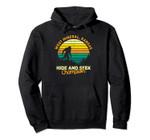 Retro West Mineral, Kansas Big foot Souvenir Pullover Hoodie, T Shirt, Sweatshirt
