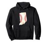 Indiana USA Retro Baseball Softball Player Fan Coach Gift Pullover Hoodie, T Shirt, Sweatshirt