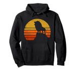 Vintage Eighties Style Lion Roaring Retro Distressed Design Pullover Hoodie, T Shirt, Sweatshirt