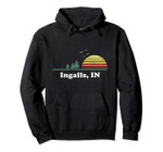 Vintage Ingalls, Iowa Home Souvenir Print Pullover Hoodie, T Shirt, Sweatshirt