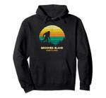 Retro Bayou Broomes Island, Maryland Bigfoot Souvenir Pullover Hoodie, T Shirt, Sweatshirt