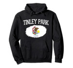 TINLEY PARK IL ILLINOIS Flag Vintage USA Sports Men Women Pullover Hoodie, T Shirt, Sweatshirt