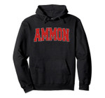 AMMON ID IDAHO Varsity Style USA Vintage Sports Pullover Hoodie, T Shirt, Sweatshirt