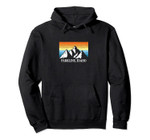 Vintage Parkline, Idaho Mountain Hiking Souvenir Print Pullover Hoodie, T Shirt, Sweatshirt