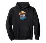 Vintage Lytton, Iowa Sunset Souvenir Print Pullover Hoodie, T Shirt, Sweatshirt