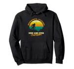 Retro Woodworth, Louisiana Big foot Souvenir Pullover Hoodie, T Shirt, Sweatshirt