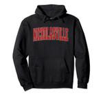 NICHOLASVILLE KY KENTUCKY Varsity Style USA Vintage Sports Pullover Hoodie, T Shirt, Sweatshirt
