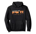 Bossier City Louisiana Skyline Retro Grafitti Style Pullover Hoodie, T Shirt, Sweatshirt
