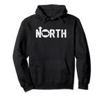 Vintage Up North Iowa State Map Pullover Hoodie, T Shirt, Sweatshirt