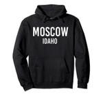 MOSCOW IDAHO ID USA Patriotic Vintage Sports Pullover Hoodie, T Shirt, Sweatshirt