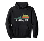 Vintage Avilla, Iowa Home Souvenir Print Pullover Hoodie, T Shirt, Sweatshirt