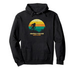 Retro Highfield-Cascade, Maryland Bigfoot Souvenir Pullover Hoodie, T Shirt, Sweatshirt