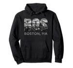 Boston Buildings Souvenir Massachusetts Skyline Art BOS Gift Pullover Hoodie, T Shirt, Sweatshirt