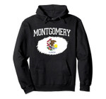 MONTGOMERY IL ILLINOIS Flag Vintage USA Sports Men Women Pullover Hoodie, T Shirt, Sweatshirt