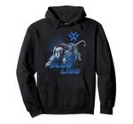 Legendary Defender Blue Lion Logo Hoodie, T Shirt, Sweatshirt