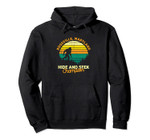 Retro Rossville, Maryland Big foot Souvenir Pullover Hoodie, T Shirt, Sweatshirt