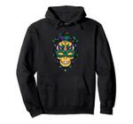Skull Mardi Gras Jester Costume Joker Carnival Louisiana Pullover Hoodie, T Shirt, Sweatshirt