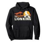 Disney The Lion King Live Action Savannah Sunset Portrait Pullover Hoodie, T Shirt, Sweatshirt