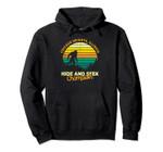 Retro Chicago Heights, Illinois Big foot Souvenir Pullover Hoodie, T Shirt, Sweatshirt