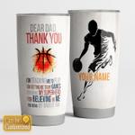 Dear Dad - Thanks you - Basketball