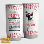 Dear Mom - Thanks you - Baseball
