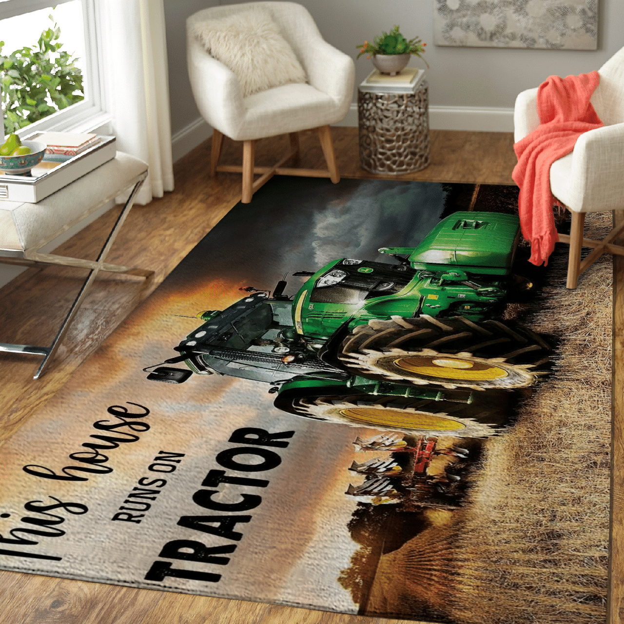 This house runs on Tractor