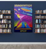 Imagination canvas - Portrait Canvas