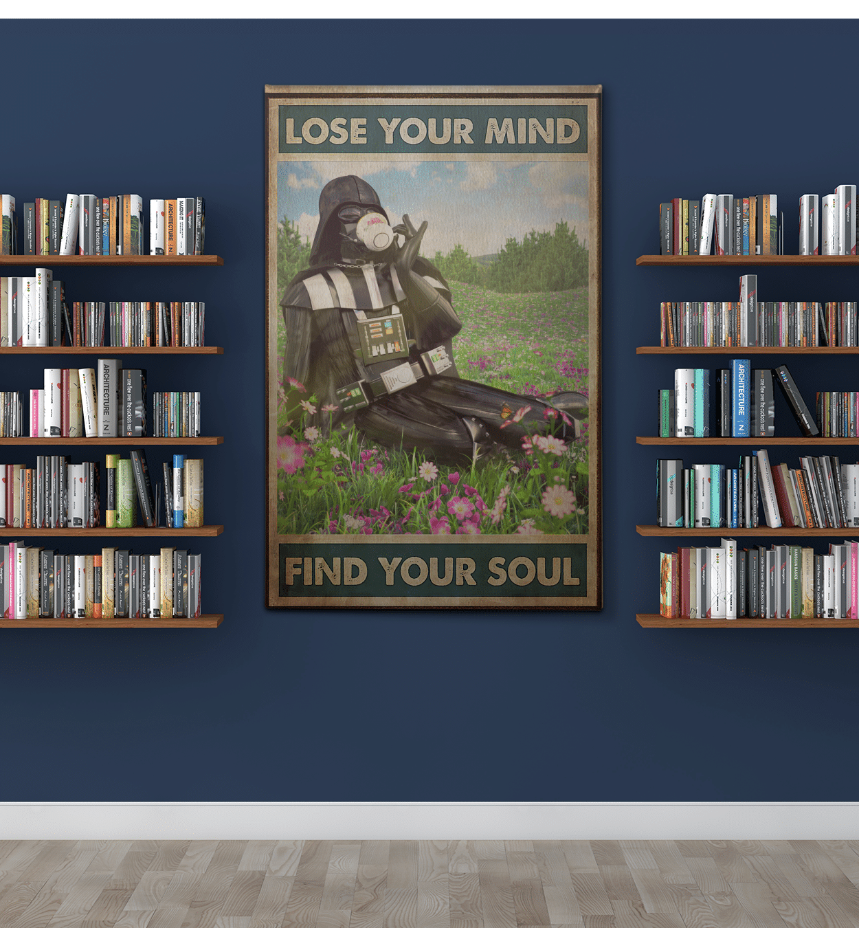 Lose your mind find your soul Portrait Canvas