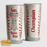Baseball - Son - Home base