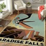 Paradise falls Area Rug
