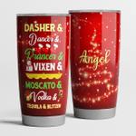 Dasher & dancer & prancer & vixen & moscato