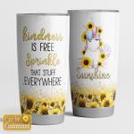 Kindness is free sprinkle that stuff everywhereKindnes- unicorn - Tumbler 20Oz