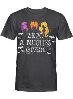 Zero a muchks given